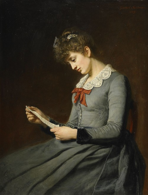 Geskel Saloman - The Love Letter (1889)