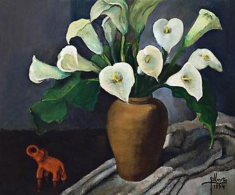 GILBERTO TROMPOWSKY,(Brasil, 1912-1982) Coposde Leite, ost, 1934, 62 x 74