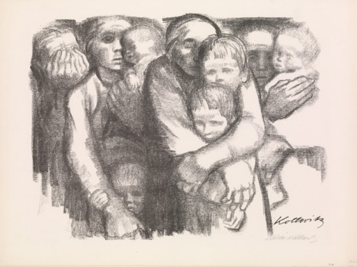 Käthe Kollwitz (German, 1867–1945). Mothers (Mütter), 1919. Lithograph,52 x 70cm). The Metropolitan Museum of Art, New York,
