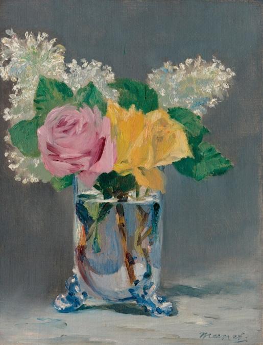 lilases e rosas