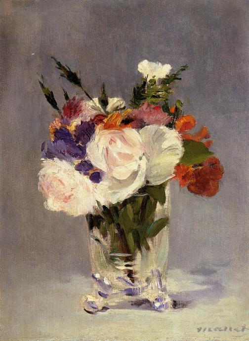 manet flores cristal