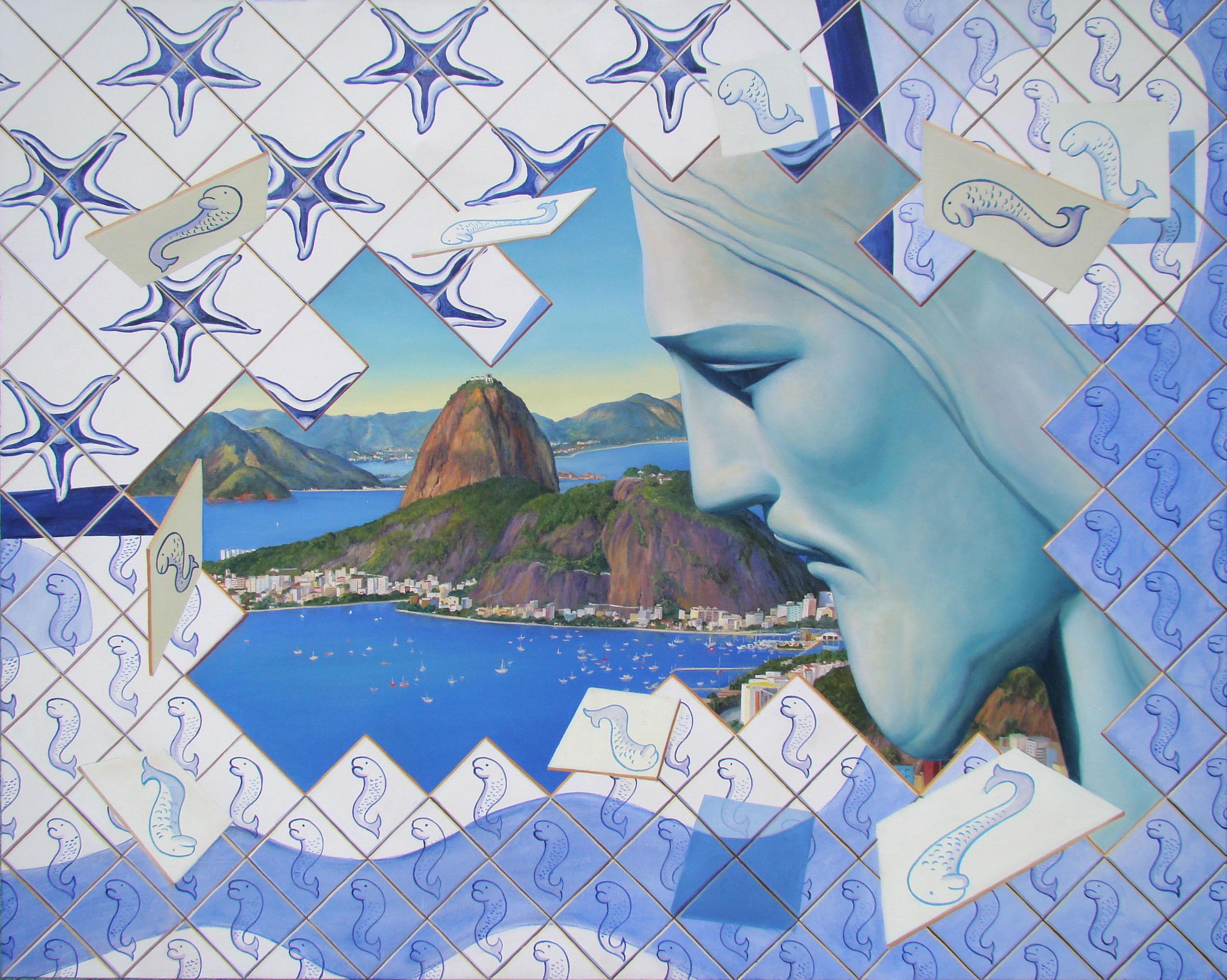 Pedro Guedes (Brasil, MG, 1960)Rio de Janeiro 2012, ostcm, 80 x 100c,
