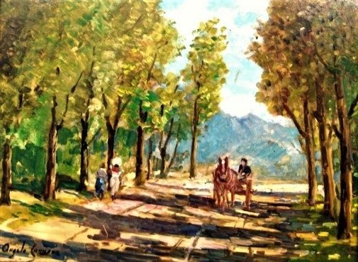 ANGELO CANNONE (1899 - 1992) Figuras, o.s.e. - 30 x 40.