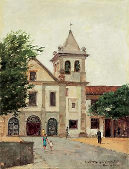Azeredo Coutinho, Mosteiro de São Bento, osm, 1945, 35x27