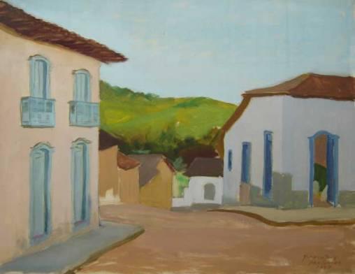 Procópio de Moraes, José (1929)Santana de Parnaiba (1969),Óleo sobre tela,50 x 65 cm