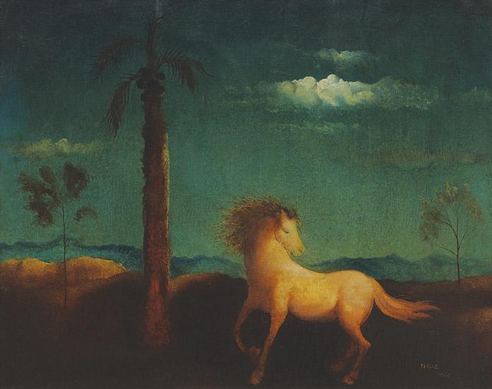 TERUZ, Orlando (1902 - 1984), Cavalo, 1940, ost, 65x80