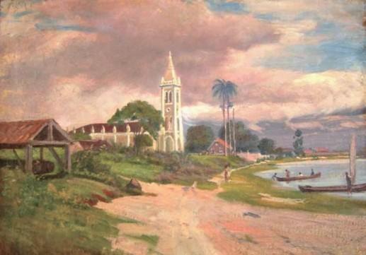 Alfredo Andersen Rocio-Paranaguá 75 X 53 cm 1930 Museu Alfredo Andersen ...