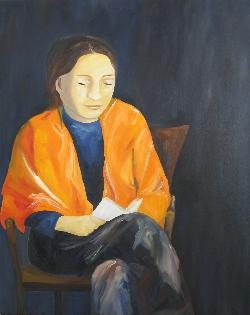 christianemichau (Suiça, 1962), Mulher que lê,