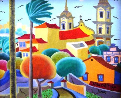 Ignácio da Nega, Ignacio Ramos da Silva, (1945) Igreja da Sé de Olinda, 2005, ast,15x18