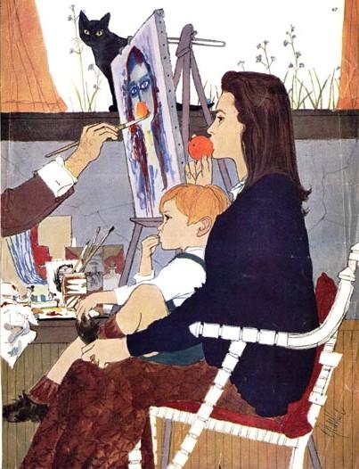 pintor, al parker, 1959