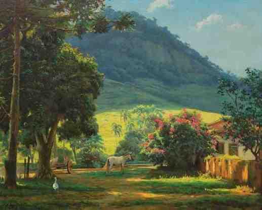 Edgar Walter, Morada - óleo sobre tela