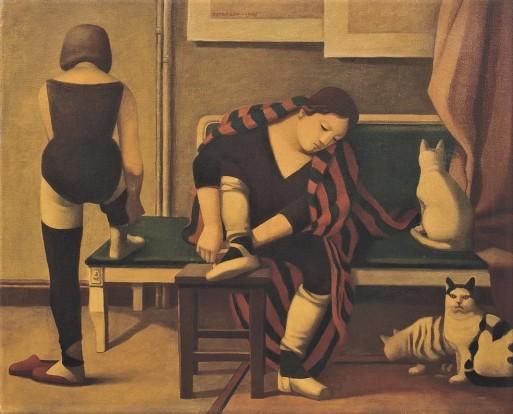 Reynaldo Fonseca (Brasil, 1925) Escola de dança, 1976,Óleo sobre tela,81 X 100 cm