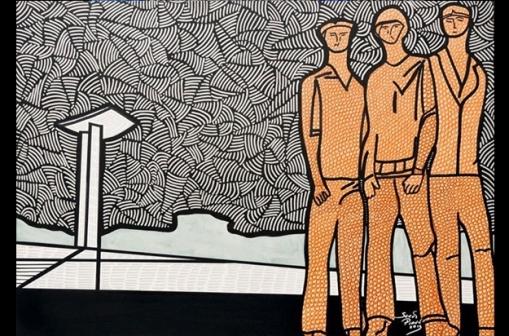 Sergio Piancó, (Brasil, contemporâneo)4.monumento aos pracinhas