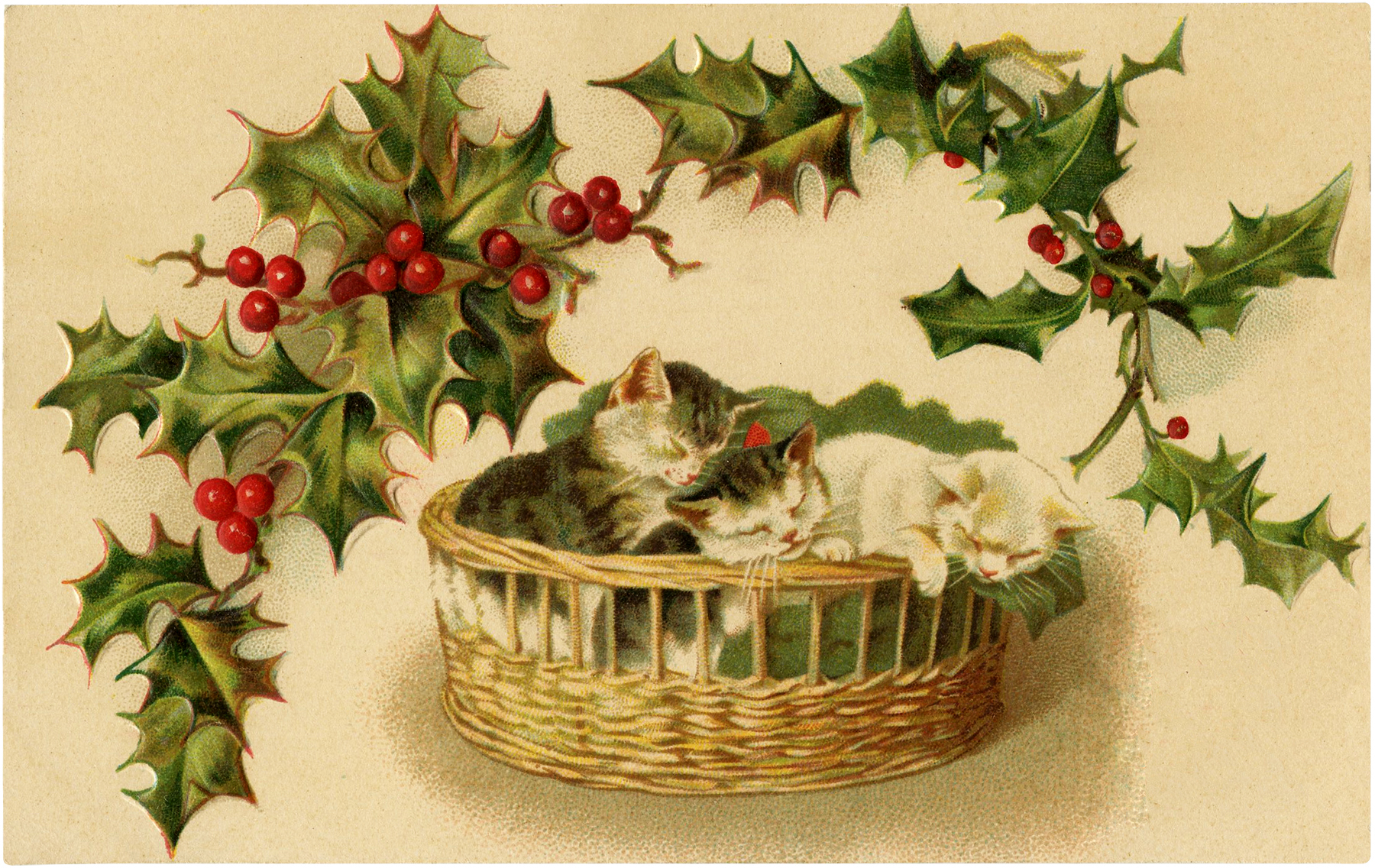 Christmas-Kittens-Download-GraphicsFairy