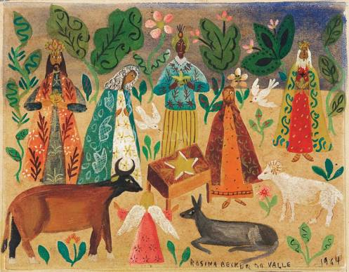 Rosina Becker do Vale, Natividade