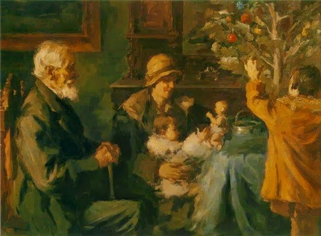 Spiridon Vikatos (Argostoli, 1878 – Atenas, 1960).Árbol de Navidad-