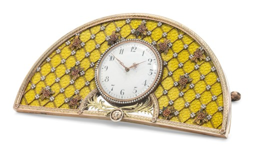a_jewelled_guilloche_enamel_silver-gilt_desk_clock_marked_faberge_with)