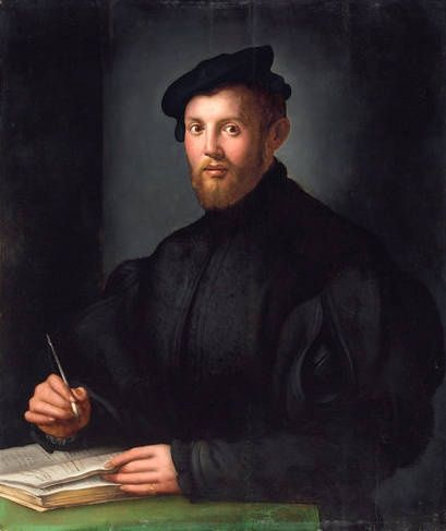 Agnolo Bronzino, Portrait of a Young Man with a Book. .Christie's Images Ltd 2012