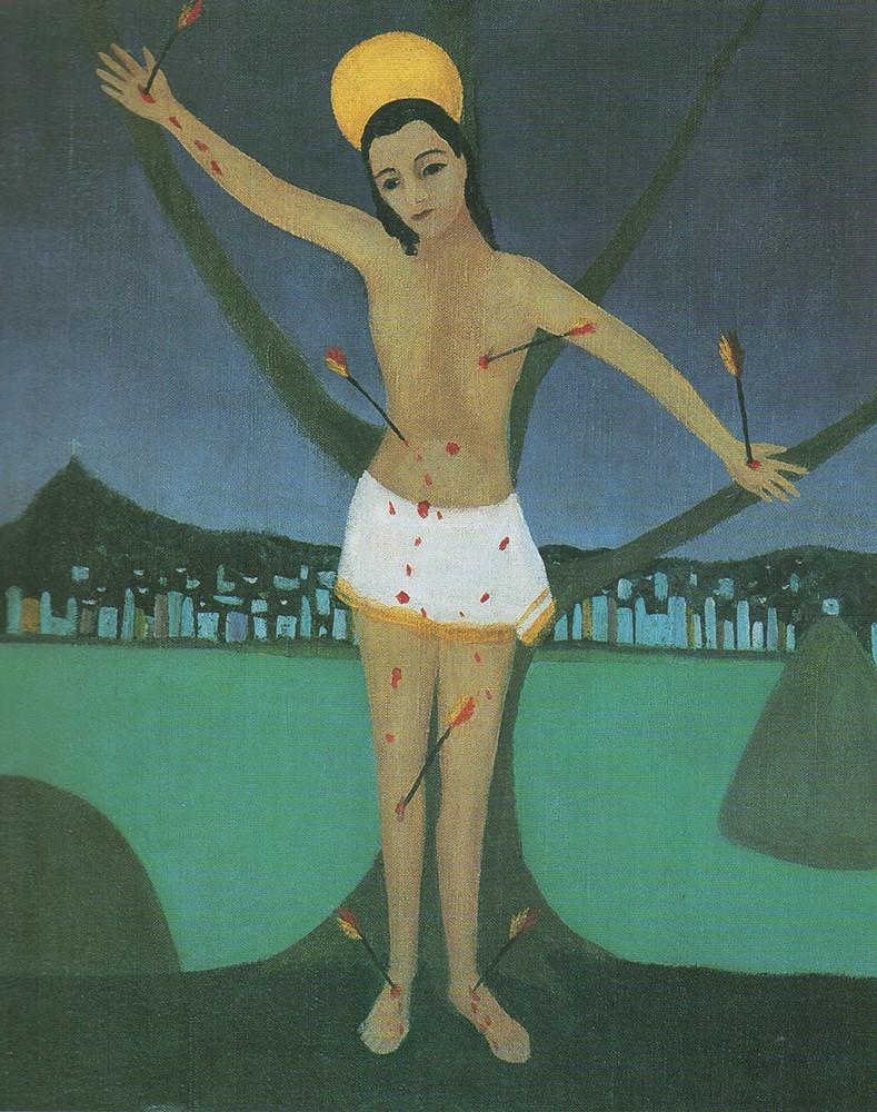 Djanira São Sebastião, ost, 1966, 73 x 59 cm