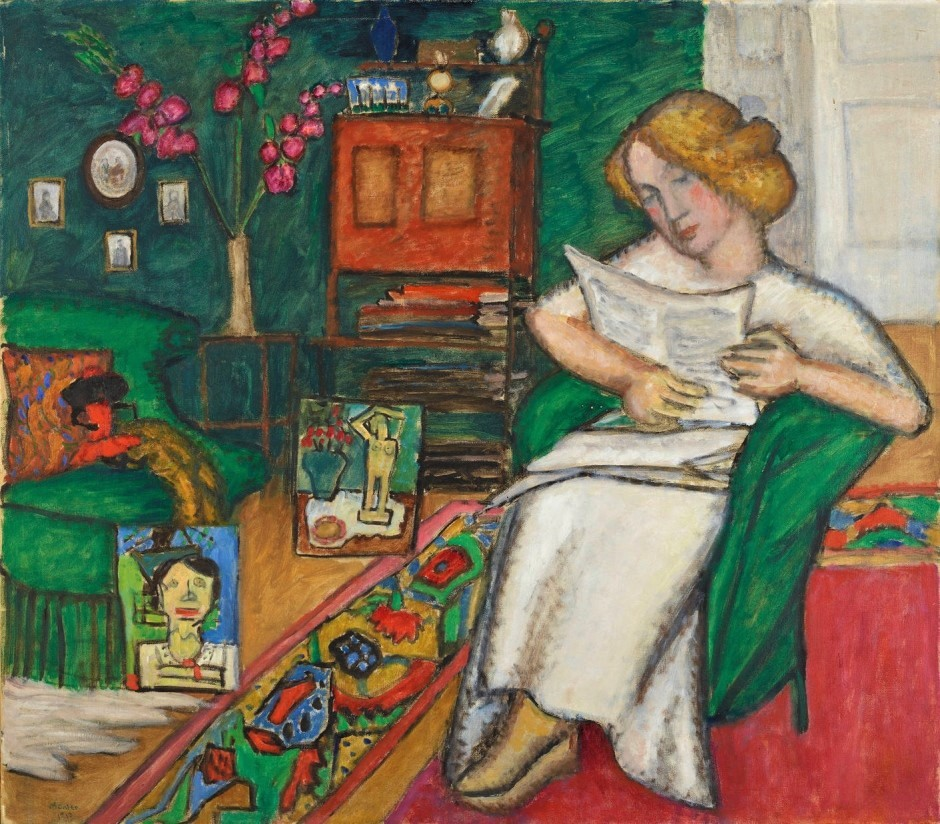 Gabriele-In the Room,1913,by Gabriele Munterjpg