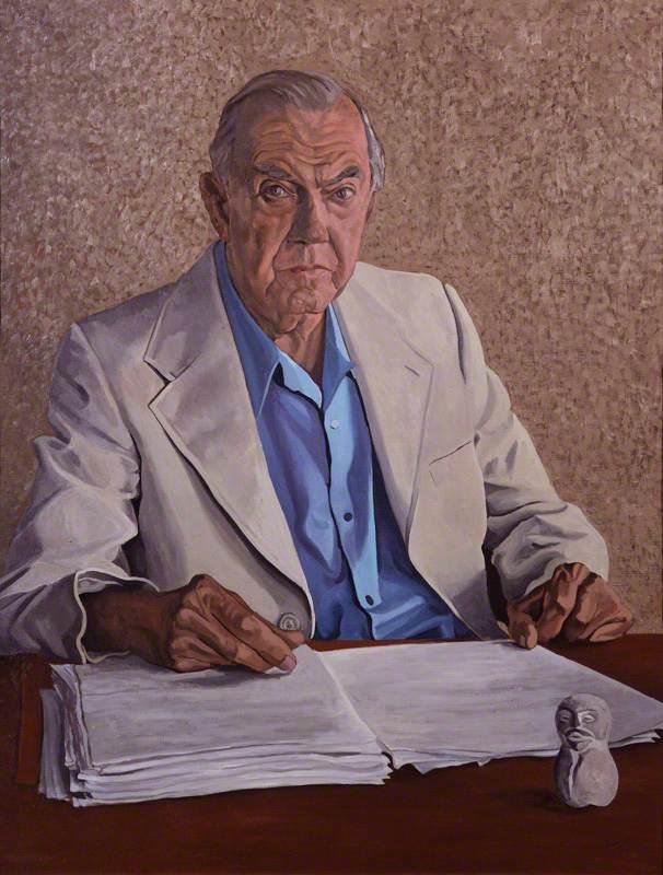 Palliser, Anthony, b.1949; Graham Greene