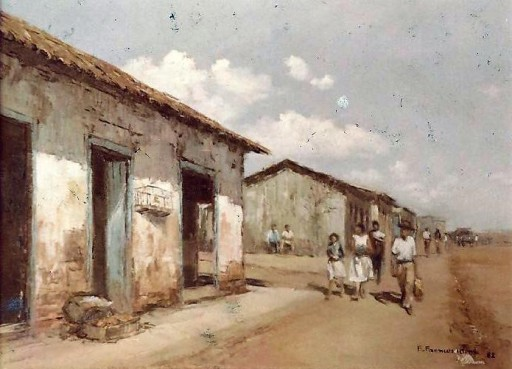 Edson Franceschini (Brasil, 1953) Recanto de Goiás original, ost