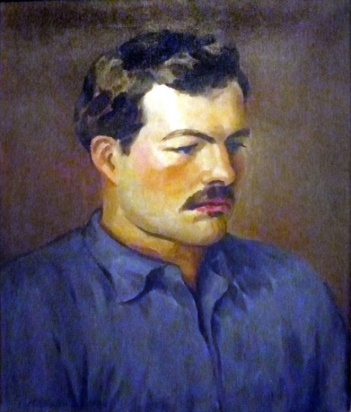 Earnest Hemingway 1930 by Henry Strater