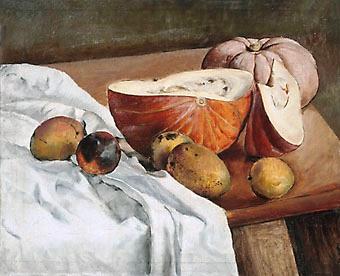 Vittorio gobbis, Abóboras e mangas, ost, 60x73