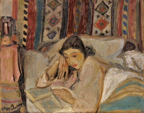 This painting is by Jacques Chapiro (1887-1972), a Russian Jewish painter who settled in Paris.