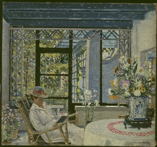 VIGAS AZUIS, 1916, Frederic Clay Bartlett, American, 1873–1953, ost, 71× 76 cm