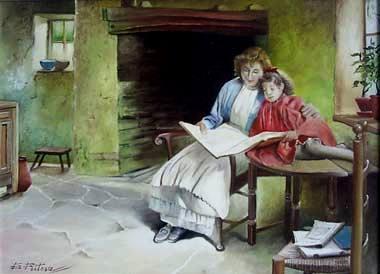 Eduardo Feitosa, (Brasil, Sb do campo, 1957)mãe e filha, ost