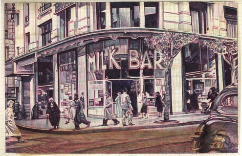 Geo Sipp (EUA, contemporâneo) Milk Bar, Algiers