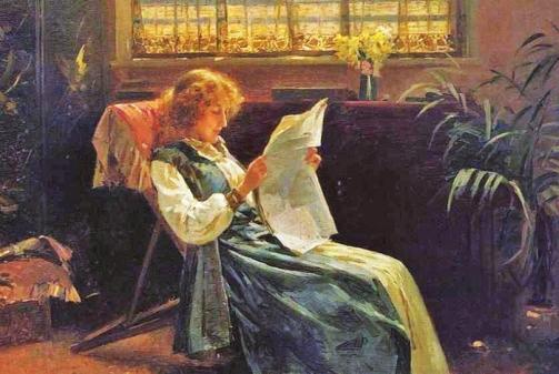 Alexander_M__Rossi_British_artist_18401916___The_Morning_News