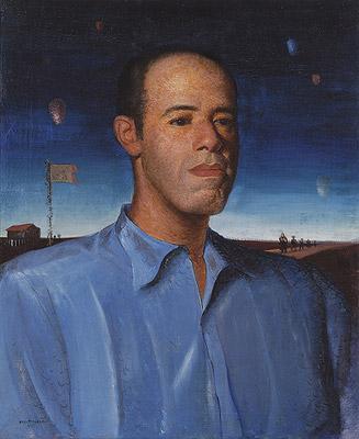 Mario de ANdrade por Portinari, 1935, ost, 73 x 60 cm,Coleção de Artes Visuais do Instituto de Estudos Brasileiros - USP (São Paulo, SP)
