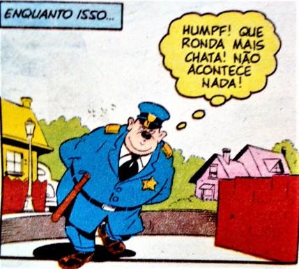 policial, cidade calma, disney
