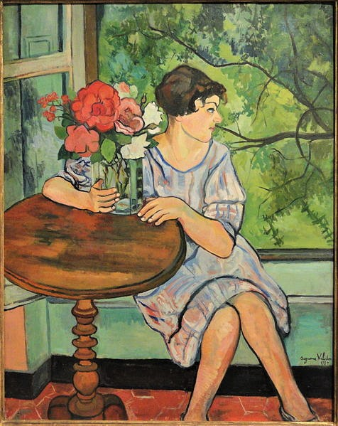 476px-Young_Girl_in_Front_of_a_Window,_by_Suzanne_Valadon,_1930_-_San_Diego_Museum_of_Art_-_DSC06734