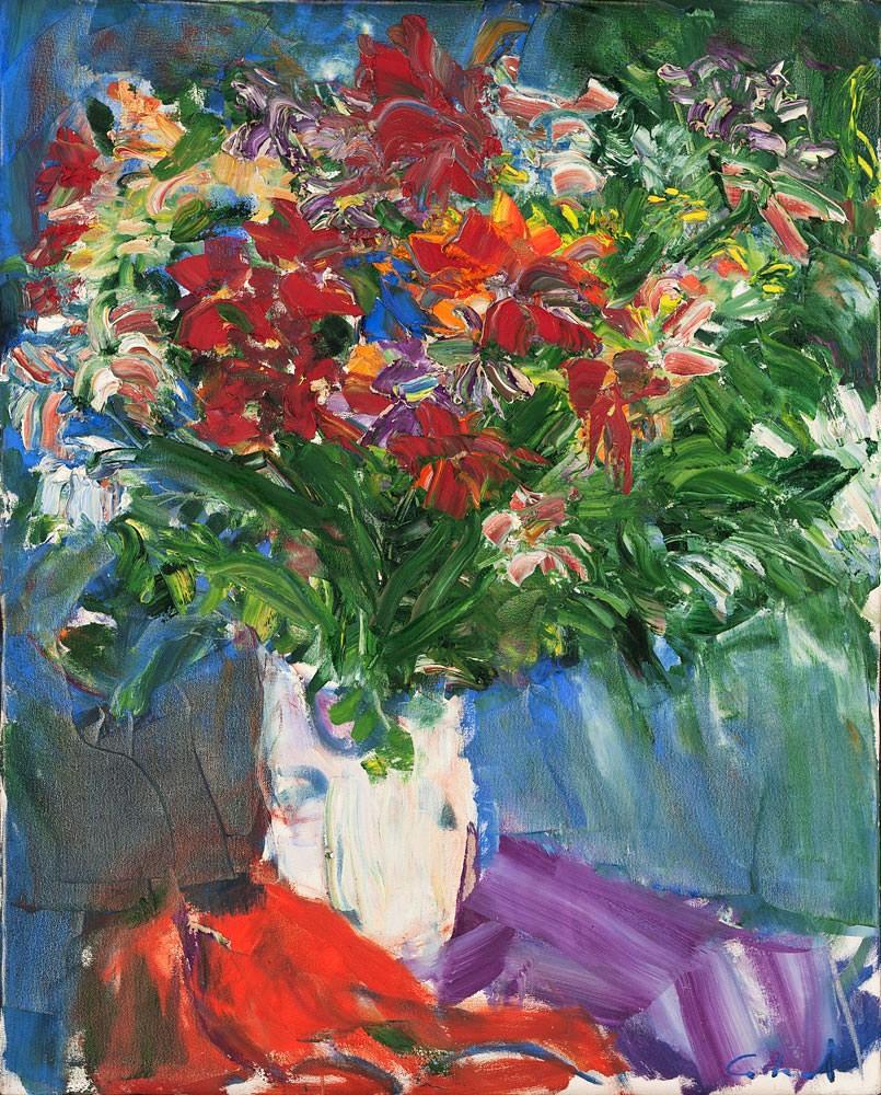 antonio-helio-cabral-vaso-de-flor-oleo-sobre-tela-100 x 80 cm
