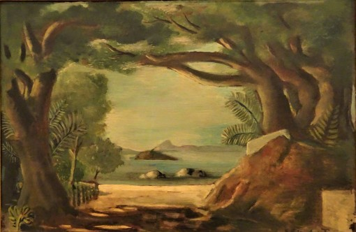 Di Cavalcanti, Paquetá, 1928,osobre cartão, Cl Domingos Giobbi