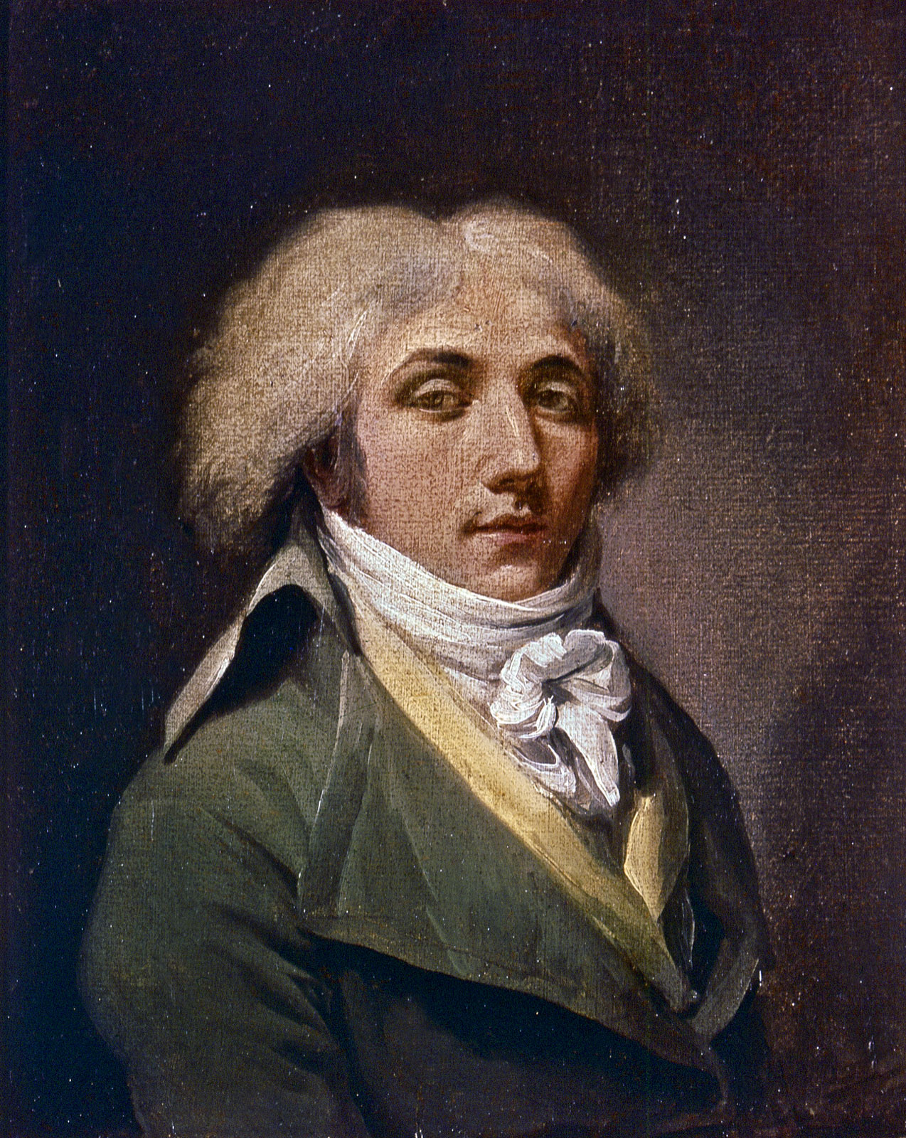 Auto-retrato, 1795, Louis-Léopeold Boilly (França, 1761-1845) ost, Museu de Belas Artes de Lille