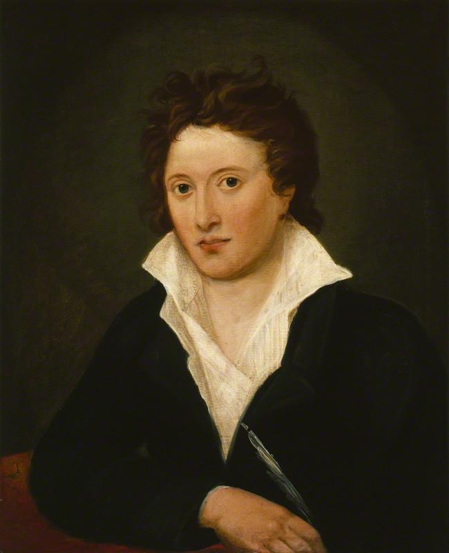 NPG 1234; Percy Bysshe Shelley by Amelia Curran